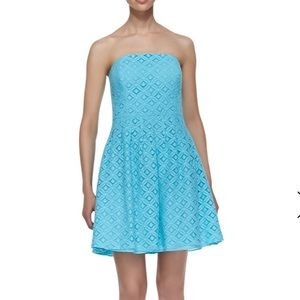 Lilly Pulitzer Caitlin Strapless Lace Dress